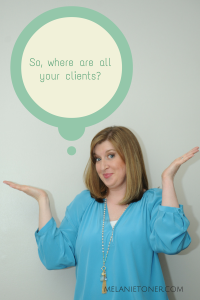The secret to finding clients